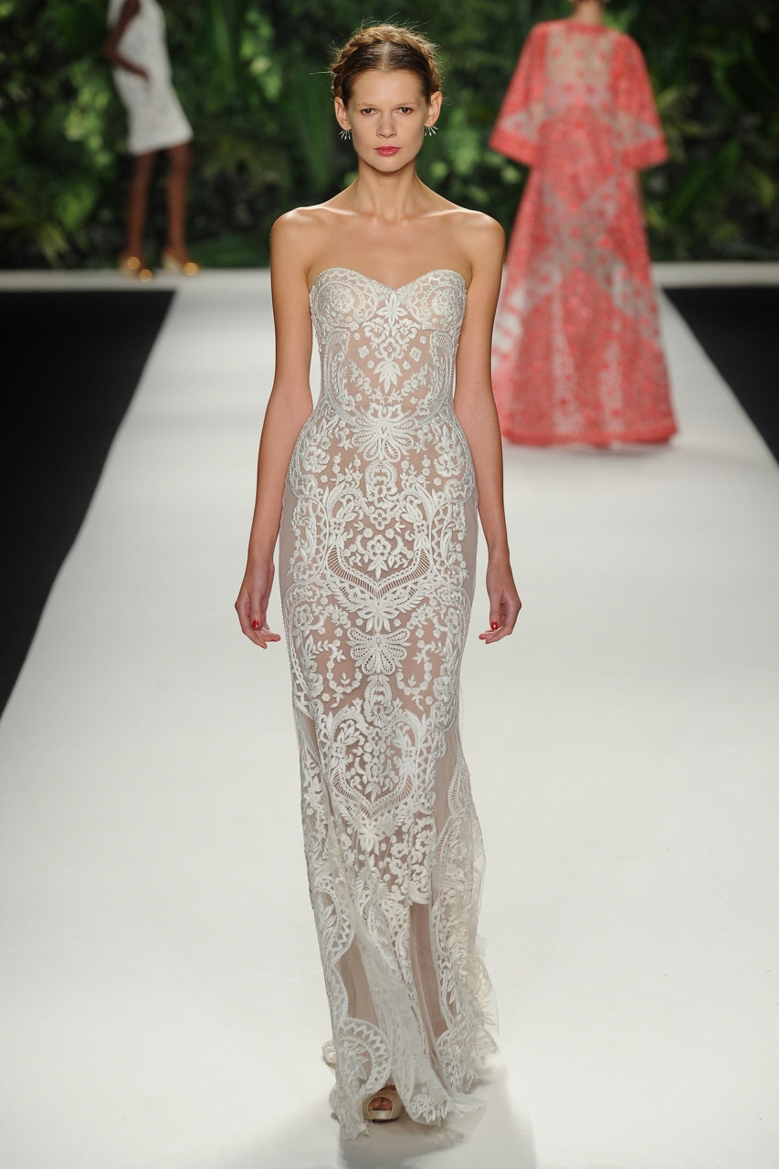 Beautiful Naeem Khan Wedding Gowns Ornament - Wedding and flowers ...