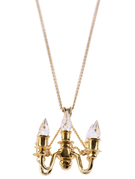Miss Bibi chandelier pendant necklace