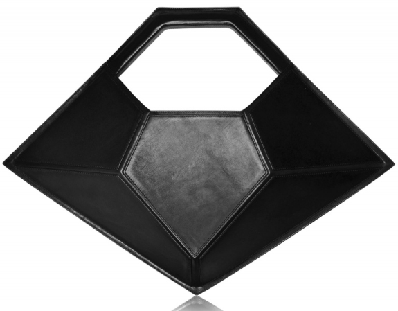 THE DARK DIAMOND BAG by Lamat