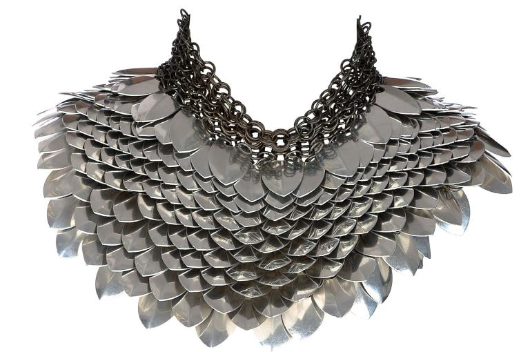 Fannie Schiavoni cleopatra neck piece